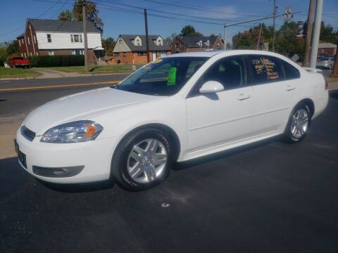 2011 Chevrolet Impala for sale at STRUTHER'S AUTO MALL in Austintown OH
