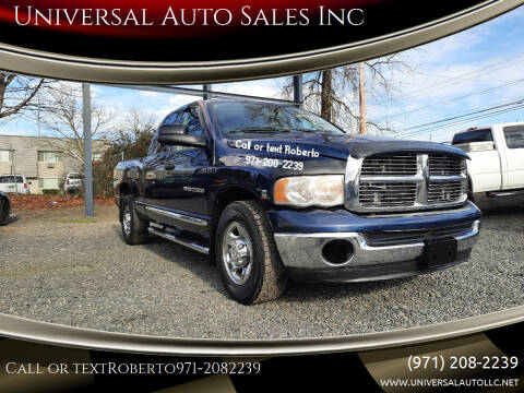 2004 Dodge Ram Pickup 2500 for sale at Universal Auto Sales Inc in Salem OR