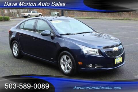 2011 Chevrolet Cruze for sale at Dave Morton Auto Sales in Salem OR