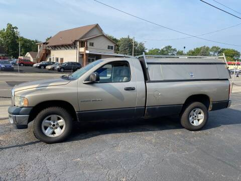 2003 Dodge Ram Pickup 1500 for sale at E & A Auto Sales in Warren OH