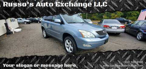 2004 Lexus RX 330 for sale at Russo's Auto Exchange LLC in Enfield CT