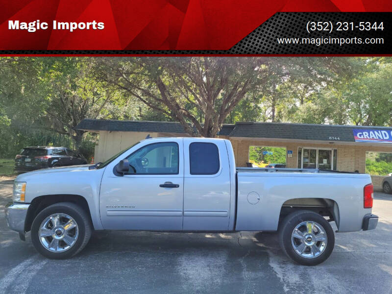 2012 Chevrolet Silverado 1500 for sale at Magic Imports in Melrose FL