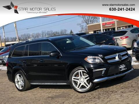 2015 Mercedes-Benz GL-Class for sale at Star Motor Sales in Downers Grove IL