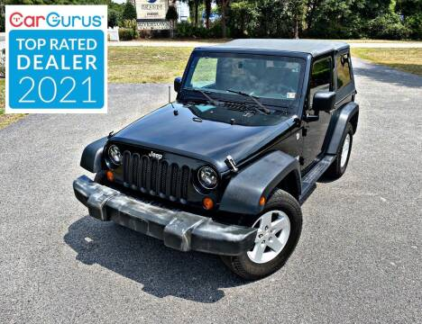 2007 Jeep Wrangler for sale at Brothers Auto Sales of Conway in Conway SC