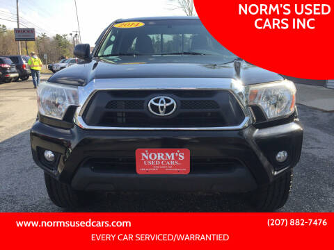 2014 Toyota Tacoma for sale at NORM'S USED CARS INC in Wiscasset ME