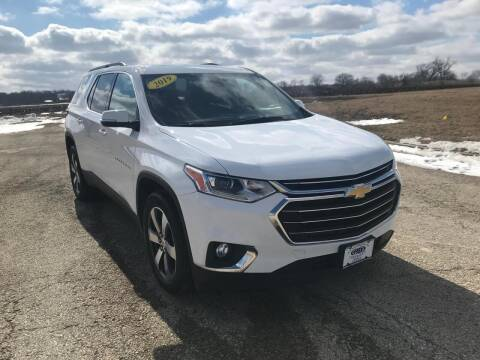 2019 Chevrolet Traverse for sale at Alan Browne Chevy in Genoa IL