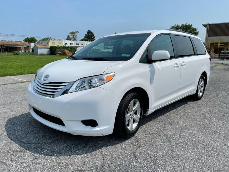 2016 Toyota Sienna for sale at Capri Auto Works in Allentown PA