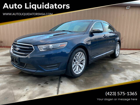 2016 Ford Taurus for sale at Auto Liquidators in Bluff City TN