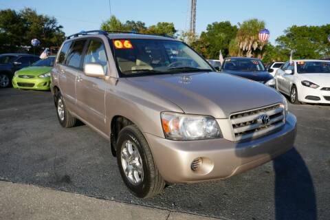 2006 Toyota Highlander for sale at J Linn Motors in Clearwater FL