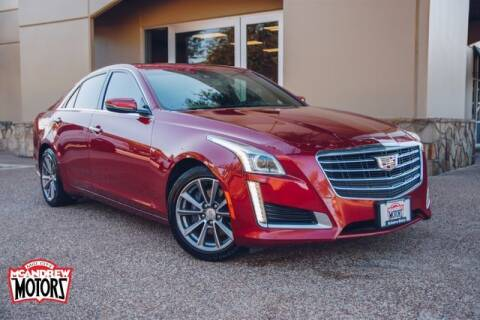 2018 Cadillac CTS for sale at Mcandrew Motors in Arlington TX