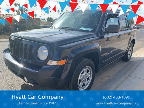 2015 Jeep Patriot for sale at Hyatt Car Company in Phoenix AZ