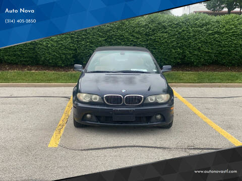 2006 BMW 3 Series for sale at Auto Nova in St Louis MO