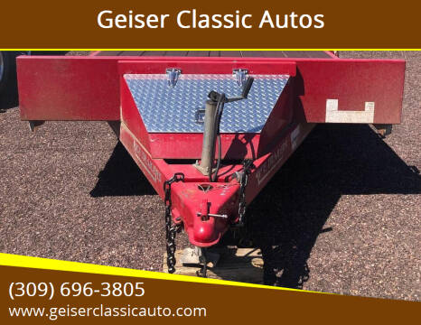 """2015 Rice Trailers 82""""x18' Model # FMC8218 for sale at Geiser Classic Autos in Roanoke IL"""