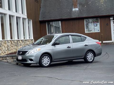 2013 Nissan Versa for sale at Cupples Car Company in Belmont NH