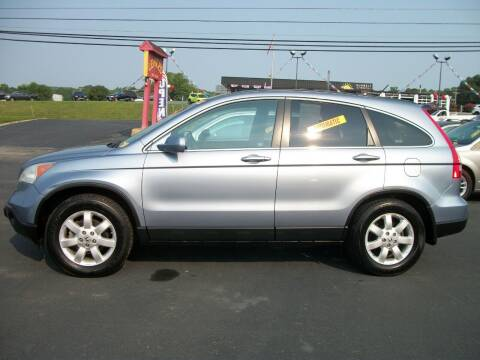2007 Honda CR-V for sale at Lentz's Auto Sales in Albemarle NC