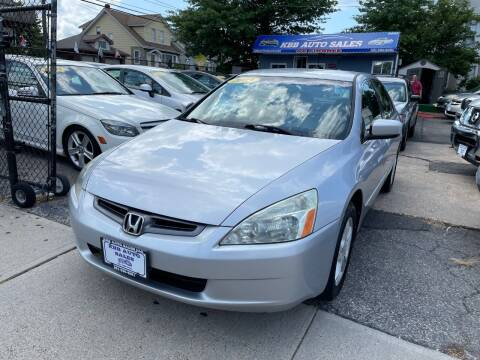 2003 Honda Accord for sale at KBB Auto Sales in North Bergen NJ