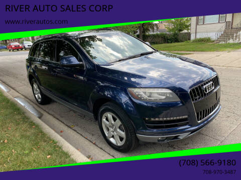 2013 Audi Q7 for sale at RIVER AUTO SALES CORP in Maywood IL