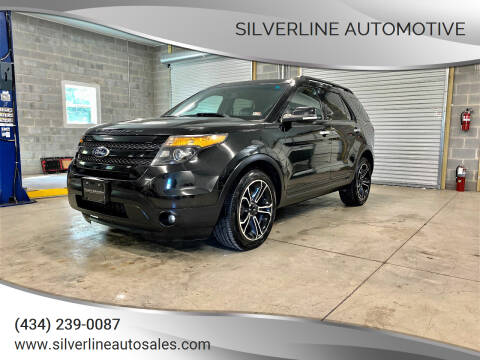 2013 Ford Explorer for sale at Silverline Automotive in Lynchburg VA