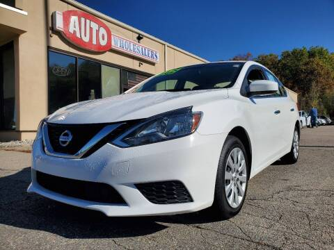 2018 Nissan Sentra for sale at Auto Wholesalers Of Hooksett in Hooksett NH