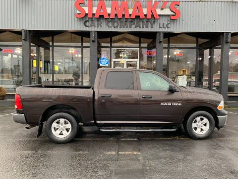 2011 RAM Ram Pickup 1500 for sale at Siamak's Car Company llc in Salem OR