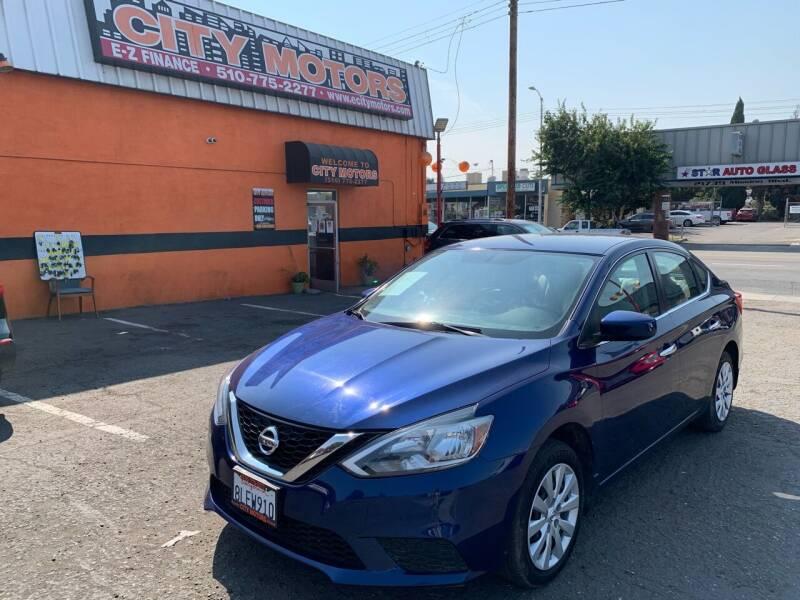 2017 Nissan Sentra for sale at City Motors in Hayward CA