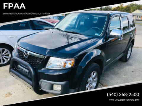 2008 Mazda Tribute for sale at FPAA in Fredericksburg VA