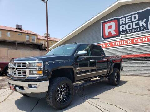 2015 Chevrolet Silverado 1500 for sale at Red Rock Auto Sales in Saint George UT
