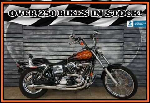 1998 Harley-Davidson FXDWG Dyna Wide Glide for sale at AZMotomania.com in Mesa AZ