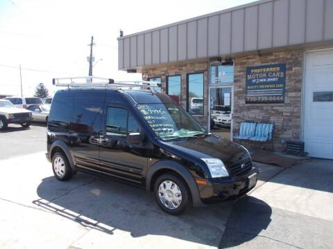 2013 Ford Transit Connect for sale at Preferred Motor Cars of New Jersey in Keyport NJ