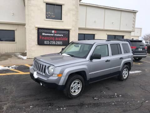 2017 Jeep Patriot for sale at Diamond Motors in Pecatonica IL