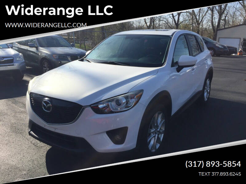 2014 Mazda CX-5 for sale at Widerange LLC in Greenwood IN