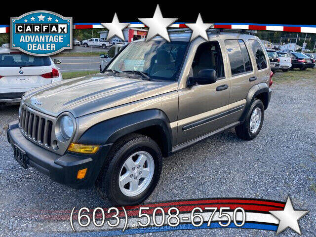 2005 Jeep Liberty for sale at J & E AUTOMALL in Pelham NH