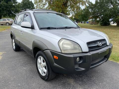 2005 Hyundai Tucson for sale at Champion Motorcars in Springdale AR
