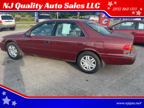 2001 Toyota Camry for sale at NJ Quality Auto Sales LLC in Richmond IL