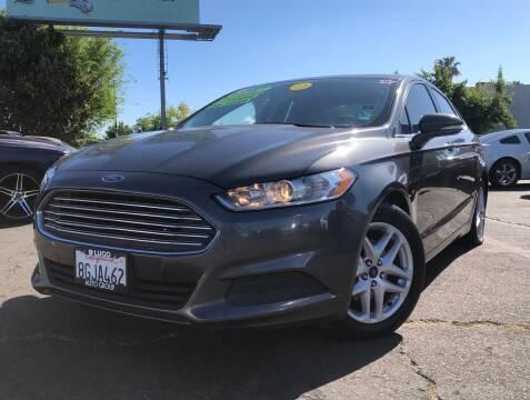 2016 Ford Fusion for sale at LUGO AUTO GROUP in Sacramento CA