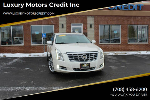 2013 Cadillac XTS for sale at Luxury Motors Credit Inc in Bridgeview IL