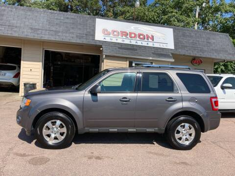 2012 Ford Escape for sale at Gordon Auto Sales LLC in Sioux City IA
