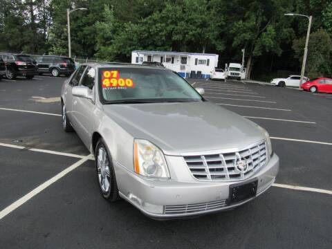2007 Cadillac DTS for sale at Auto Bella Inc. in Clayton NC