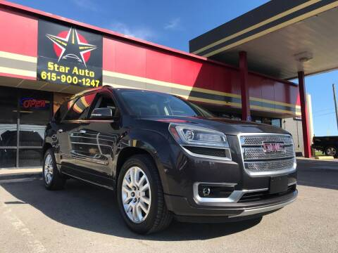 2015 GMC Acadia for sale at Star Auto Inc. in Murfreesboro TN