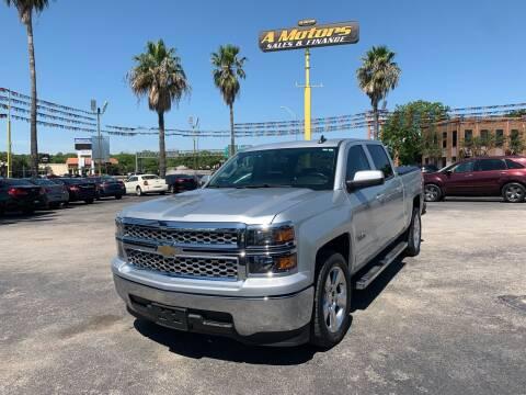 2015 Chevrolet Silverado 1500 for sale at A MOTORS SALES AND FINANCE in San Antonio TX