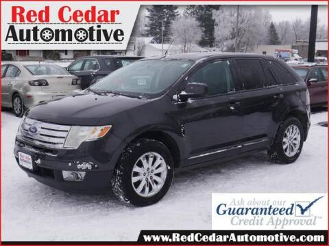 2007 Ford Edge for sale at Red Cedar Automotive in Menomonie WI