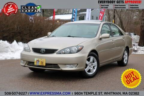2006 Toyota Camry for sale at Auto Sales Express in Whitman MA
