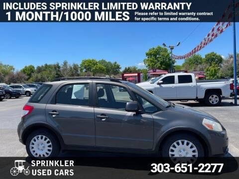 2011 Suzuki SX4 Crossover for sale at Sprinkler Used Cars in Longmont CO
