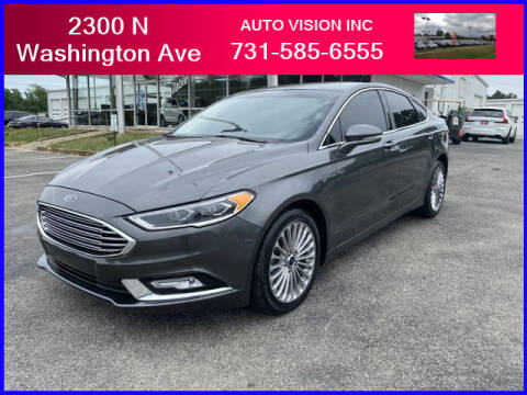 2018 Ford Fusion for sale at Auto Vision Inc. in Brownsville TN