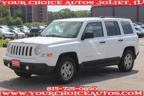 2014 Jeep Patriot for sale at Your Choice Autos - Joliet in Joliet IL
