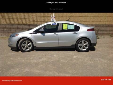 2012 Chevrolet Volt for sale at Fridays Auto Deals LLC in Oshkosh WI