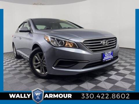 2017 Hyundai Sonata for sale at Wally Armour Chrysler Dodge Jeep Ram in Alliance OH