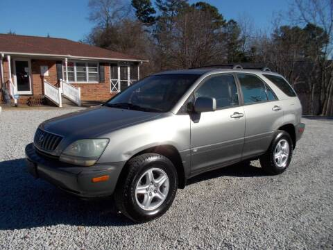 2003 Lexus RX 300 for sale at Carolina Auto Connection & Motorsports in Spartanburg SC