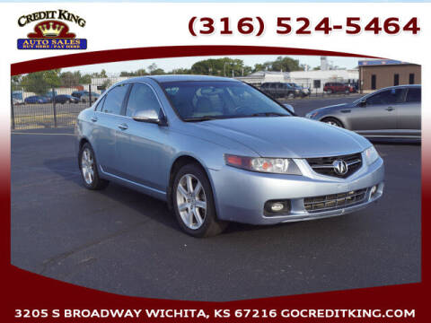 2005 Acura TSX for sale at Credit King Auto Sales in Wichita KS