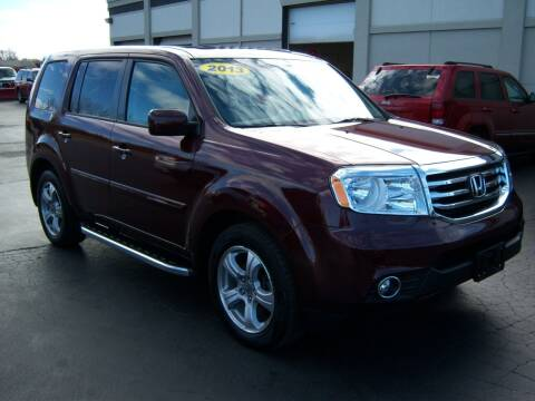 2013 Honda Pilot for sale at Blatners Auto Inc in North Tonawanda NY